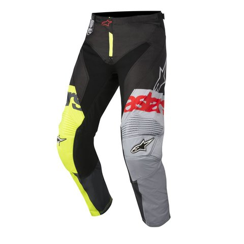 CALÇA ALPINESTARS RACER FLAGSHIP 18 OFF ROAD - YELLOW FLUO BLACK ANTARCITE