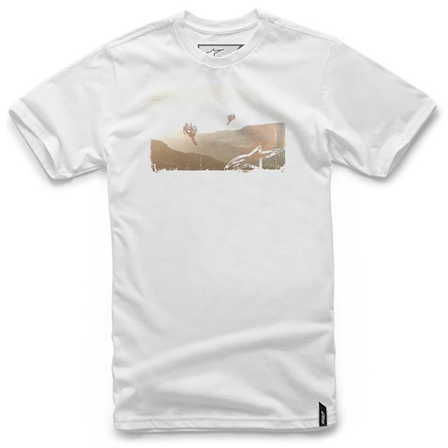 CAMISETA ALPINESTARS DREAMTIME - WHITE