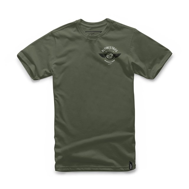 CAMISETA ALPINESTARS FIERCE - MILITARY GREEN
