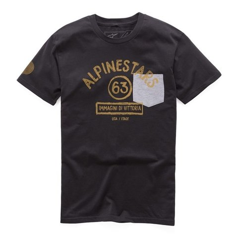 CAMISETA ALPINESTARS PAINT PREMIUM - BLACK