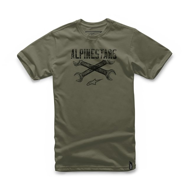 CAMISETA ALPINESTARS RATCHET - MILITARY GREEN
