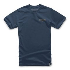 CAMISETA ALPINESTARS RIDE ON - NAVY