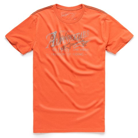 CAMISETA ALPINESTARS SCRATCH - BRICK