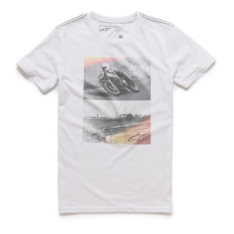 CAMISETA ALPINESTARS STACK - WHITE