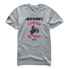 CAMISETA ALPINESTARS JAMP PREMIUM - GRAY HEATHER