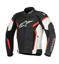 JAQUETA ALPINESTARS GP PLUS R V² - BLACK - WHITE - RED