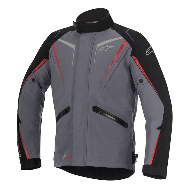 JAQUETA ALPINESTARS YOKOHAMA DRYSTAR ® DARK . GRAY . BLACK . RED