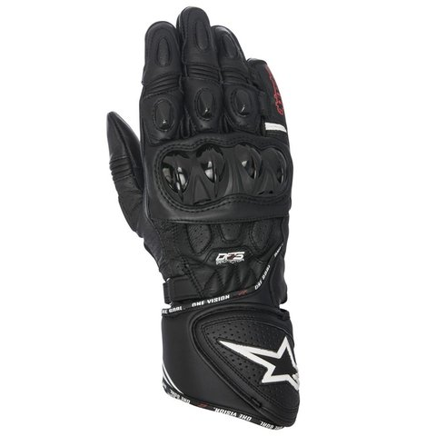 LUVAS ALPINESTARS GP PLUS R - BLACK