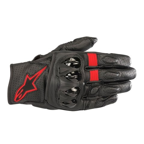 LUVAS ALPINESTARS CELER V² - BLACK - RED FLUO