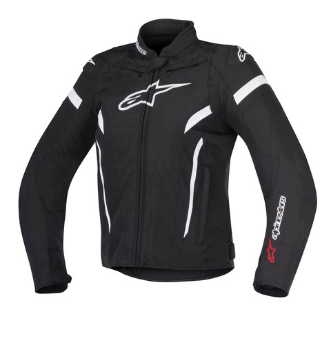 JAQUETA ALPINESTARS 'STELLA' T - GP PLUS R V² - BLACK - WHITE