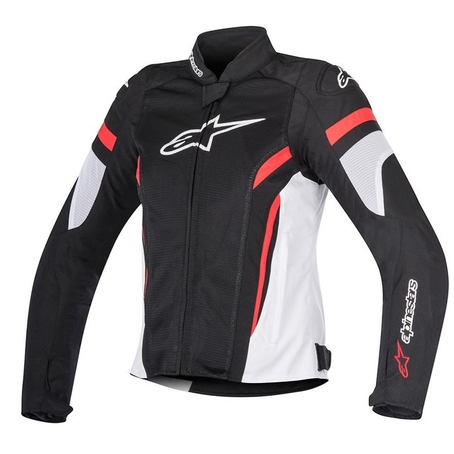 JAQUETA ALPINESTARS 'STELLA' T - GP PLUS R V² AIR- BLACK - WHITE - RED