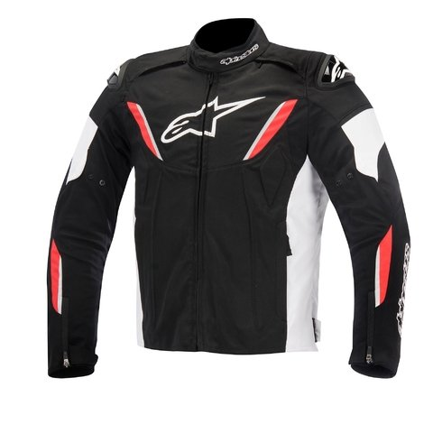 JAQUETA ALPINESTARS T-GP R WP BLACK - WHITE - RED