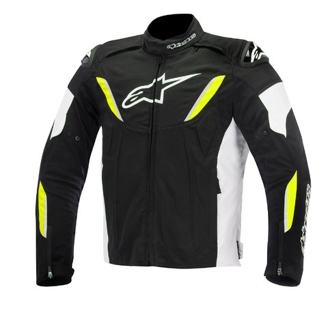 JAQUETA ALPINESTARS T-GP R WP BLACK - WHITE - YELLOW