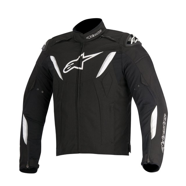 JAQUETA ALPINESTARS T-GP R WP BLACK - WHITE