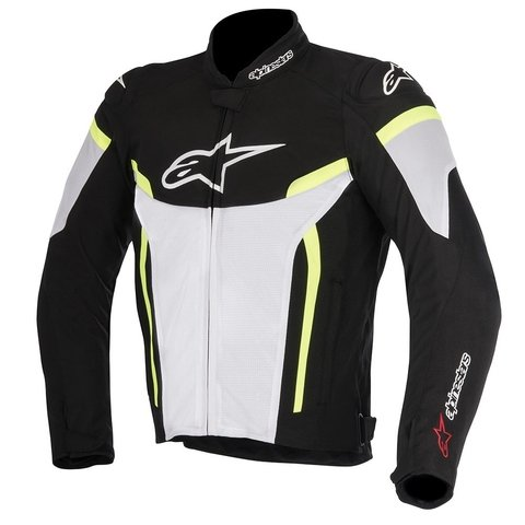 JAQUETA ALPINESTARS T - GP PLUS R V² AIR - BLACK - WHITE - YELLOW FLUO