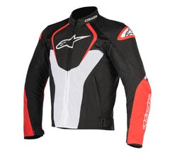 JAQUETA ALPINESTARS T- JAWS V² AIR - BLACK WHITE RED