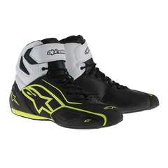 TÊNIS ALPINESTARS FASTER 2 WP - BLACK WHITE YELLOW FLUO