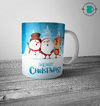 Caneca Merry Christmas and Ice