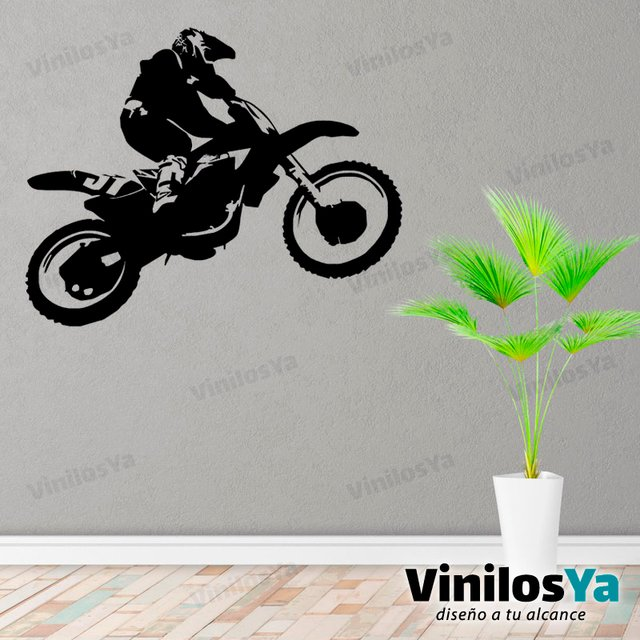 Vinilos Decorativos Motocross.Vinilos Decorativos Motos Gp Motocross Carrera
