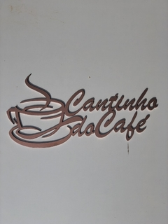 Cantinho do café na internet