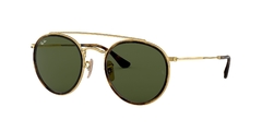 Ray-Ban RB3647N 001 ROUND DOUBLE BRIDGE CLASICO Anteojo de Sol