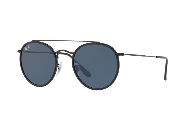 Ray Ban Round Doble Puente RB3647N 002/R5