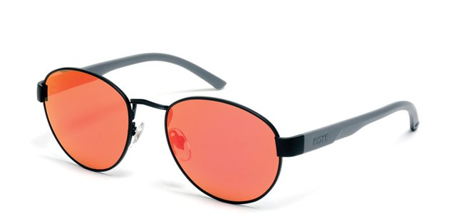 Rusty FOUNDER MBLK-REVO RED POLARIZED