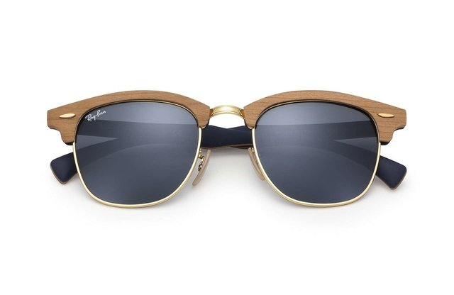 Ray Ban Clubmaster Wood Madera 3016M 1180R5 - comprar online