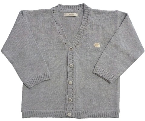 Cardigan Baby Fio Steal - comprar online