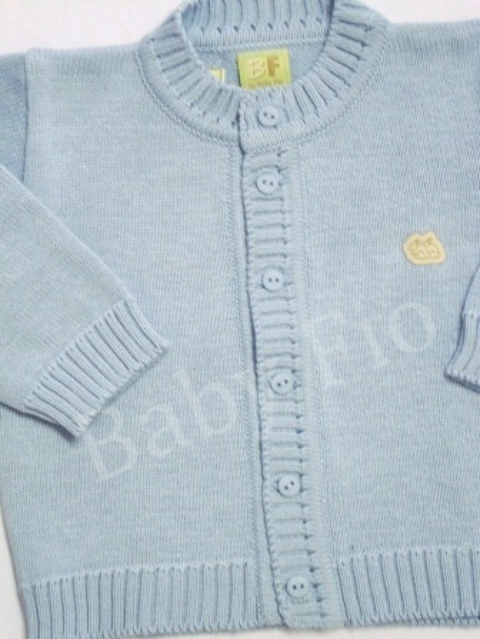 Casaco Baby Fio Sky - Baby Fio Tricot Infantil
