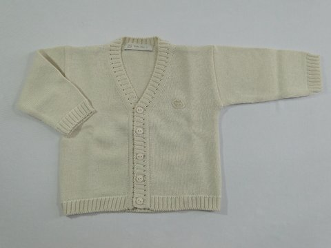 Cardigan Baby Fio Nínive - Baby Fio Tricot Infantil