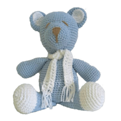 Urso Cachecol - Baby Fio Tricot Infantil