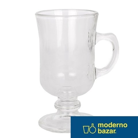 Jarrito Cafe Vidrio Mini Bill Capuccino 142 Ml Moderno Bazar