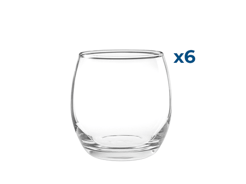 Vaso / Copa Sin Pie  Mikonos 340ml Set x6