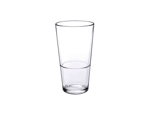 Set X6 Vasos Americanos 340 Ml Borgonovo Italianos Apilable
