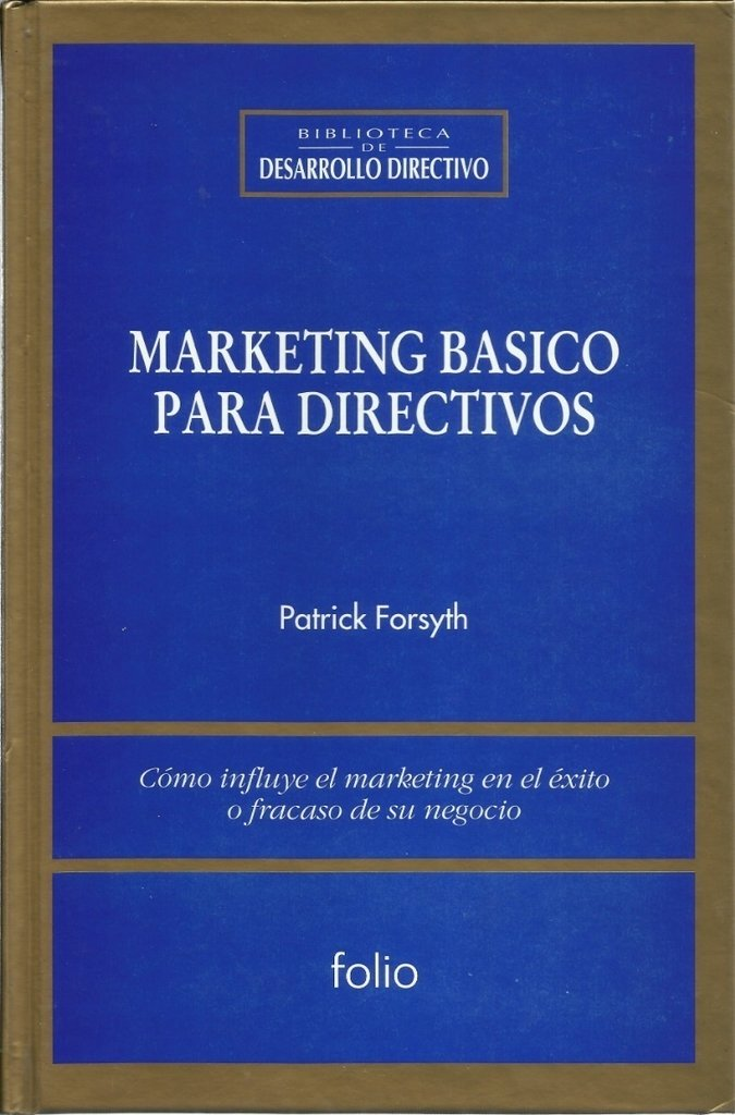 Marketing básico para directivos