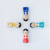 "Set Peg Dolls ""Chinas"""