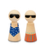 "Set Peg Dolls ""Playa"""