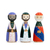 "Set de Peg Dolls ""Reyes Magos"""