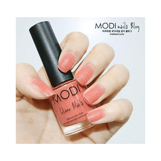 177  Modi Coral Dance Sand Nail Polish Aritaum Glam Nails