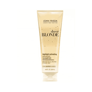Sheer Blonde Highlight Activating For Lighter Blondes Shampoo John Frieda - 250 ml