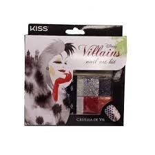 elf nail art kit - Disney Villains - Cruella DeVil