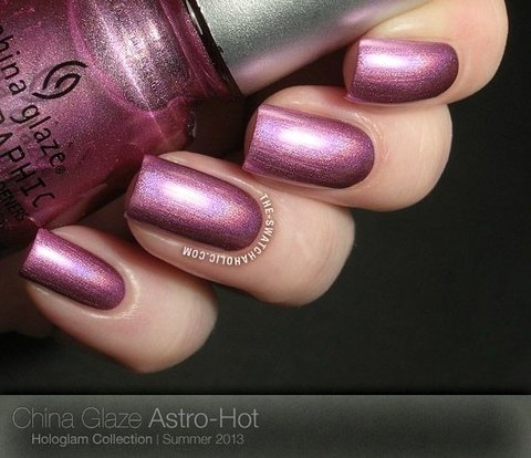 Astro Hot - Holográfico - China Glaze
