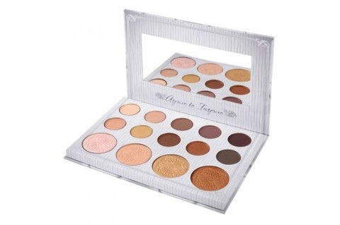Carli Bybel 14 Color Eyeshadow & High Palette Bh Cosmetics - comprar online