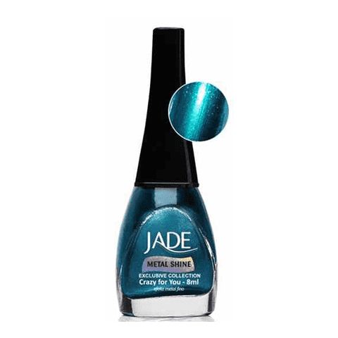 Crazy For You Metal Shine Jade Efeito Metal Fino