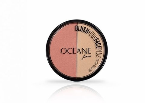 Duo Blush Your Face Plus Coral Peach Océane Femme - comprar online