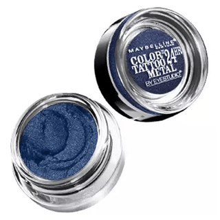 Electric Blue  Color Tatoo  24 Horas  - Maybelline