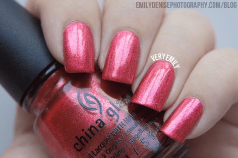 Elfin' Around - China Glaze Holiglaze na internet