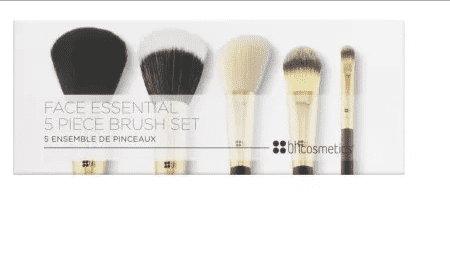 Face Essencial BH Cosmetics - Kit com 5 Pinceis - comprar online