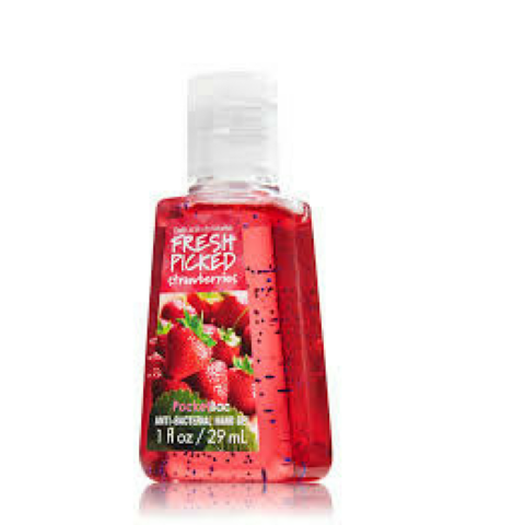 Fresh Picked Strawberries- Bactericida Bath & BodyWorks - comprar online